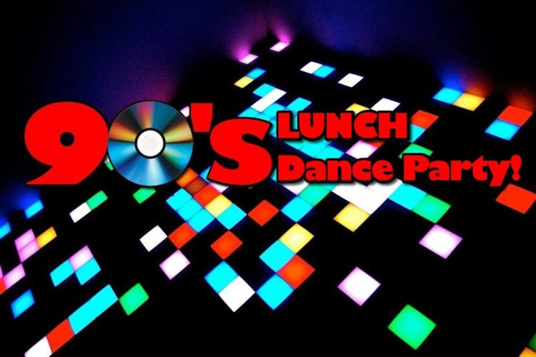90s dance lunch